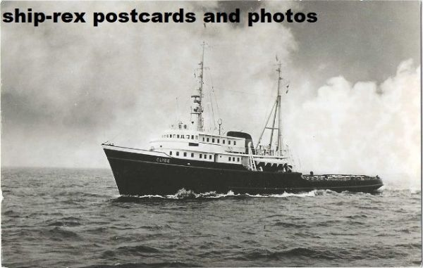 CLYDE (1957, L Smit & Co) postcard (a3)